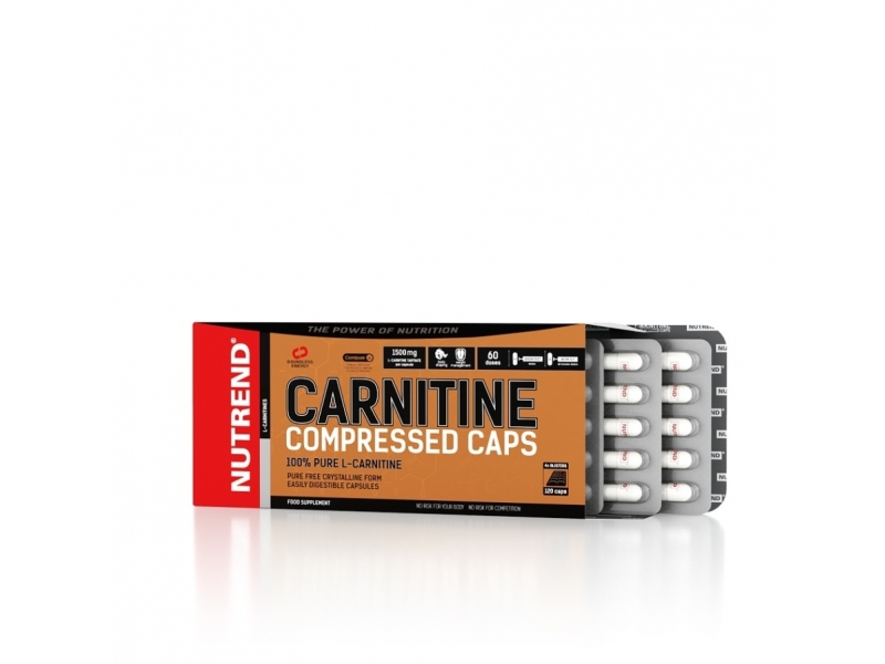 tablety Nutrend CARNITINE COMPRESSED 120tablet