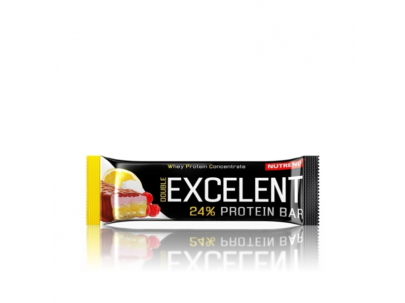 tyčinka Nutrend Excelent DOUBLE citron 40g