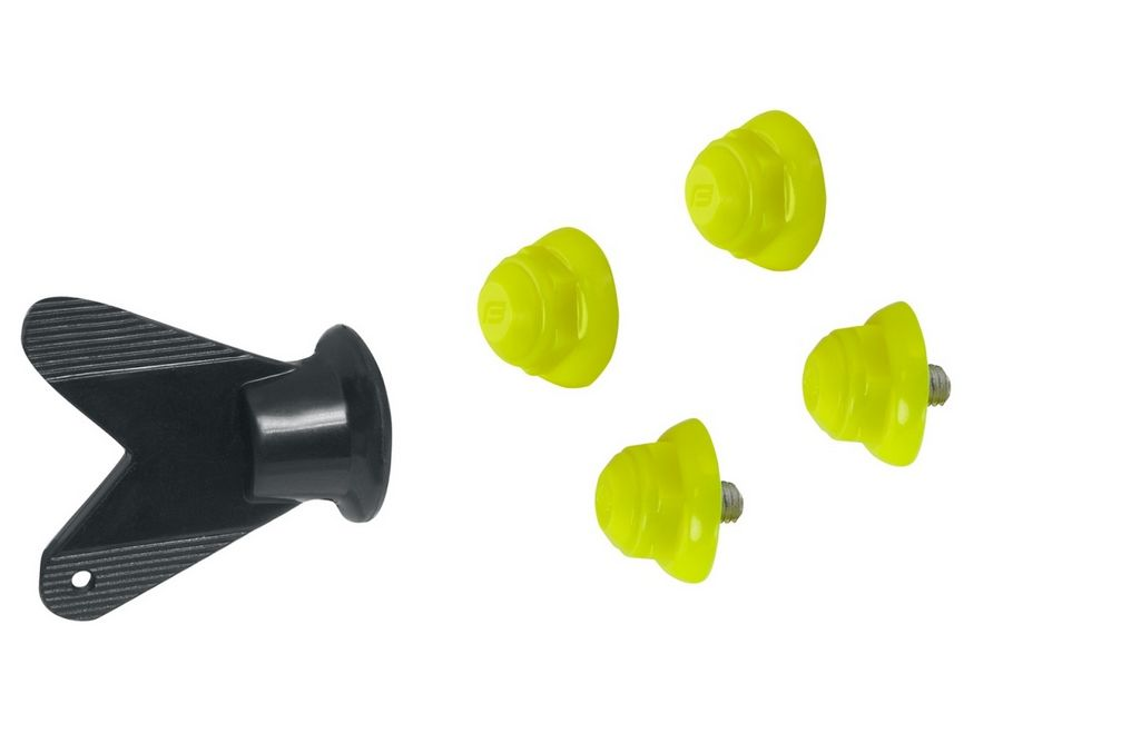 hroty na MTB tretry 4ks fluoritové + klíč