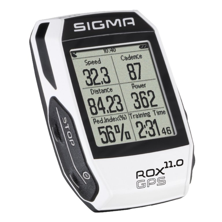 computer SIGMA ROX 11.0 GPS SET,ANT+ bílý