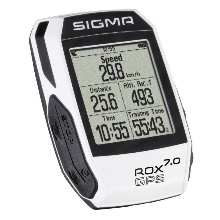 computer SIGMA ROX 7.0 GPS bílý