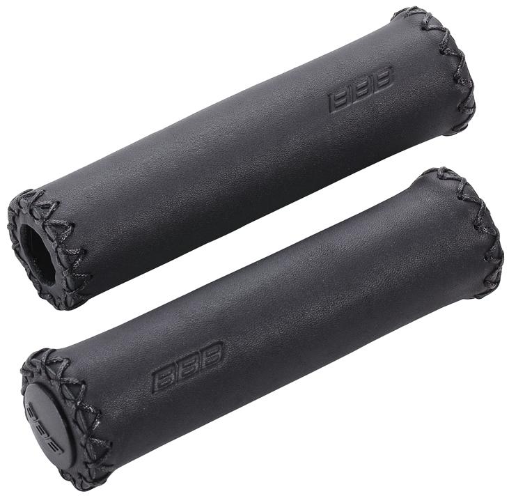 gripy BBB Exclusive 128mm kůže černé