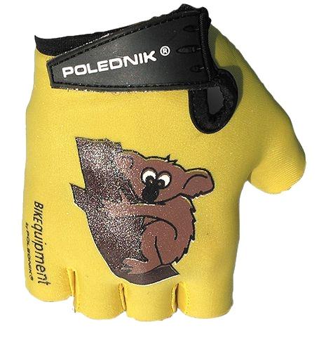 rukavice dětské Poledník žluté koala
