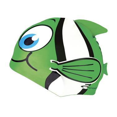 čepice plavecká dětská Spokey RYBKA zelená