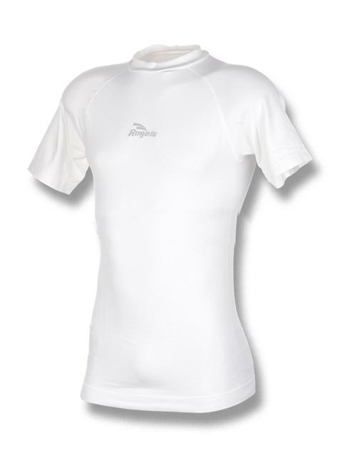 triko krátké dámské Rogelli funkční bílé