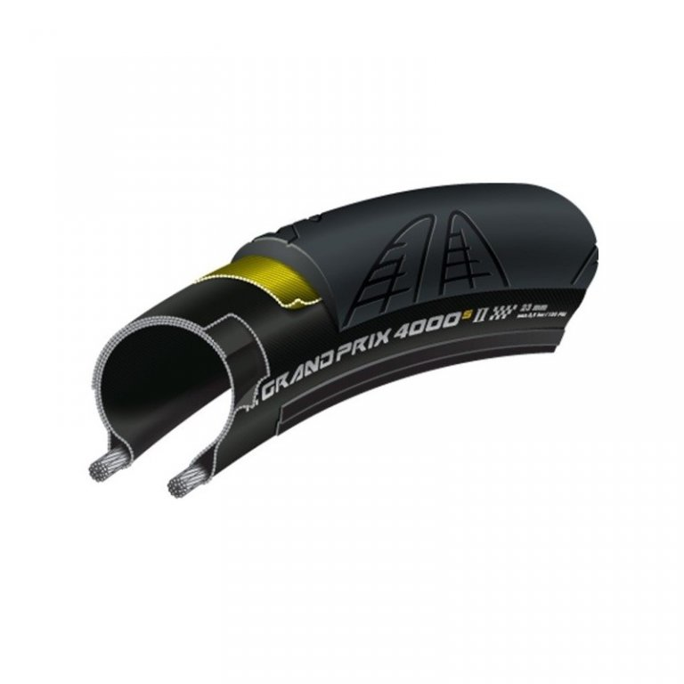 "plášť Continental Grand Prix 4000 S II 28""x1.00/28-622 kevlar reflex"