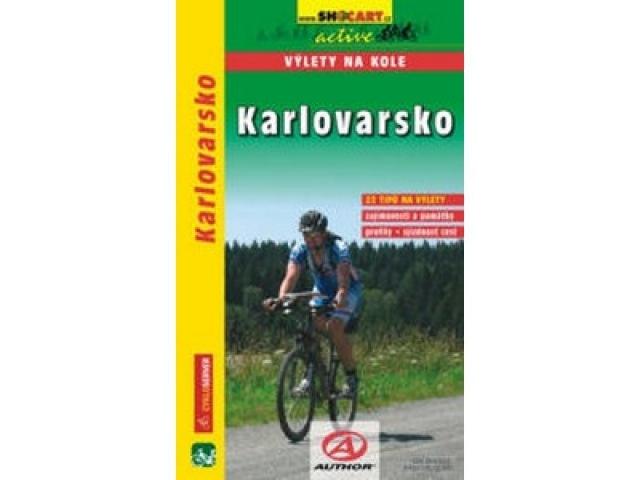 cykloprůvodce Karlovarsko, výlety na kole
