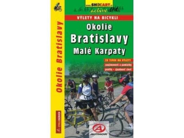 cykloprůvodce Bratislava a okolí, výlety na kole