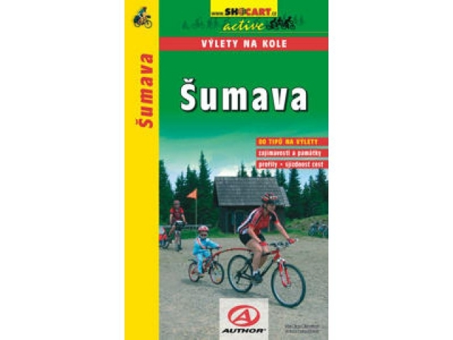 cykloprůvodce Šumava výlety na kole