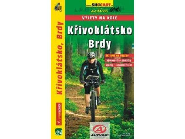 cykloprůvodce Křivoklátsko a Brdy, výlety na kole