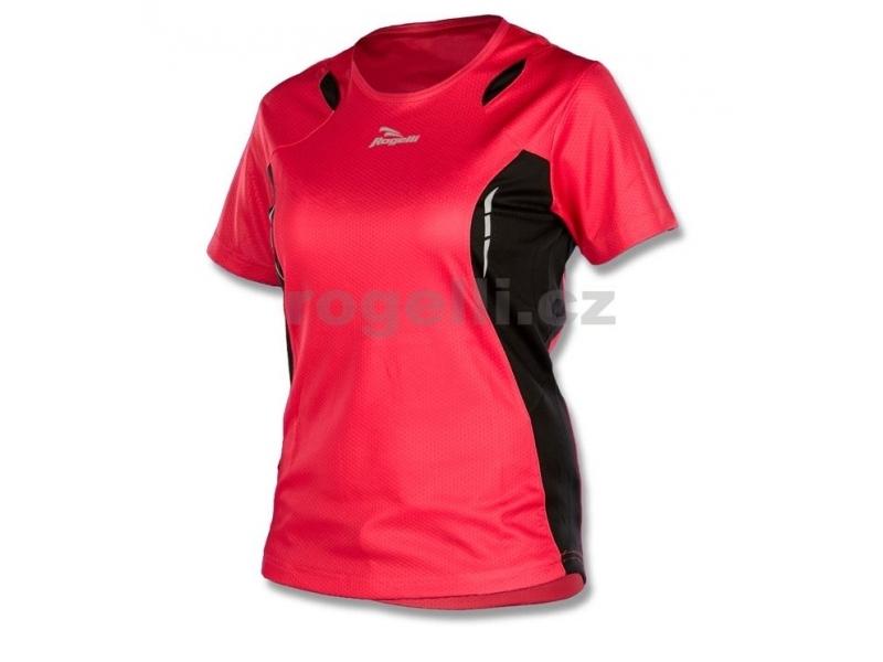 triko krátké dámské Rogelli GEARY růžovo/černé
