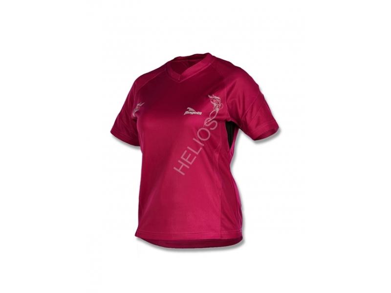 triko krátké dámské Rogelli SELMA fialové