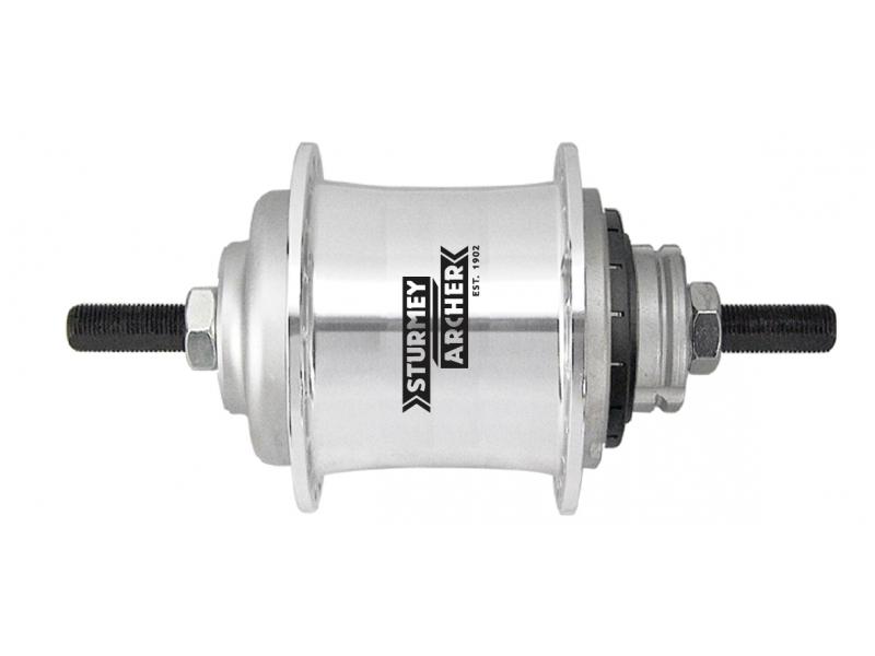 náboj Sturmey-Archer S2 Kick-Shift 32d volnoběžný stříbrný