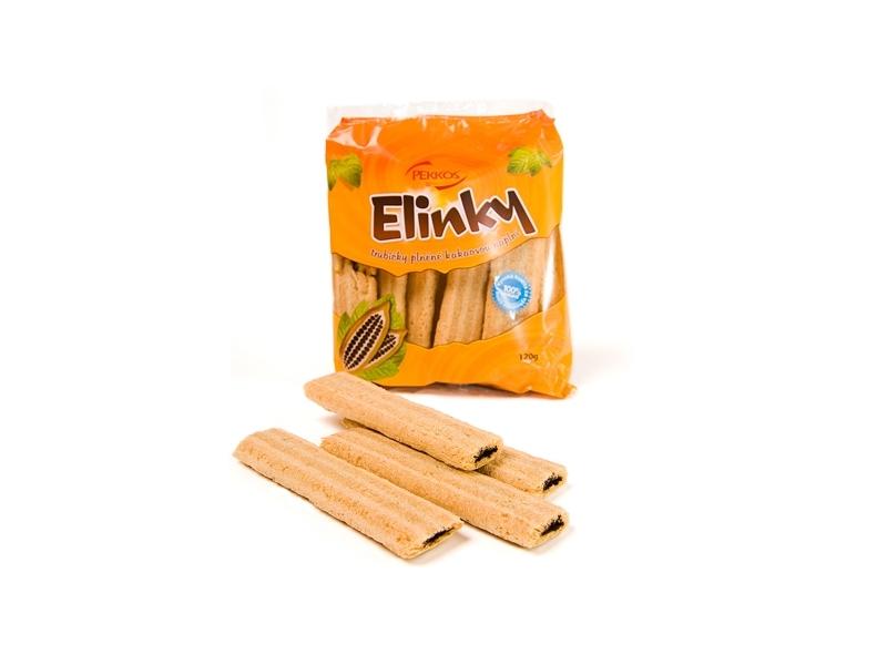 trubičky cereální ELINKY kakaové 120g