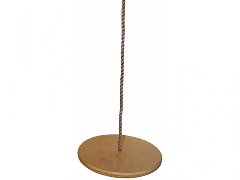 houpačka dětská disk dřevěný