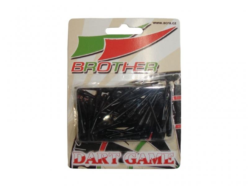 šipky-hroty plastové Brother 4mm 50ks