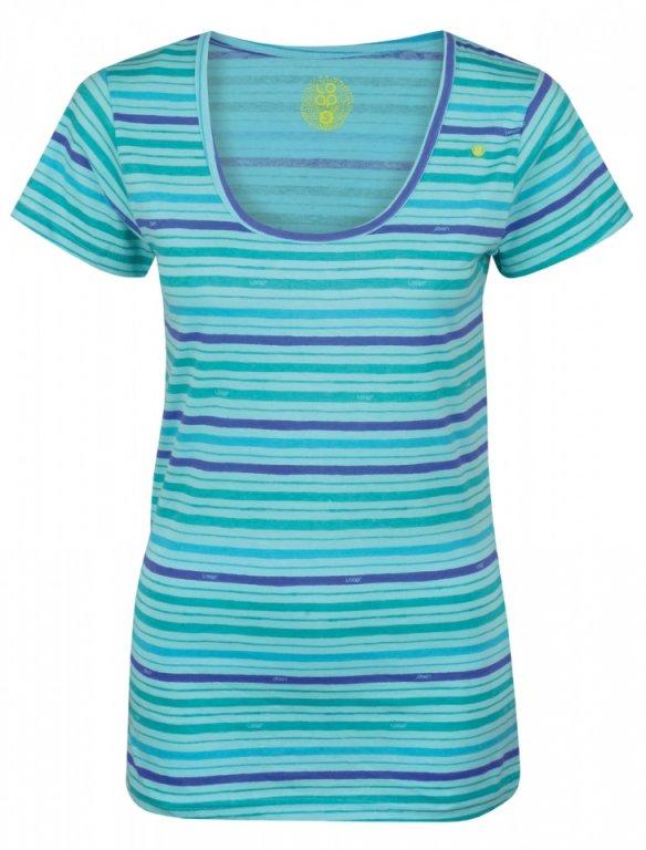 triko krátké dámské LOAP AGENDA modré