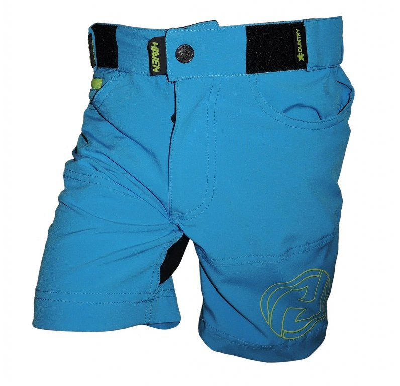 kalhoty krátké dětské HAVEN TeenAge modro/zelené