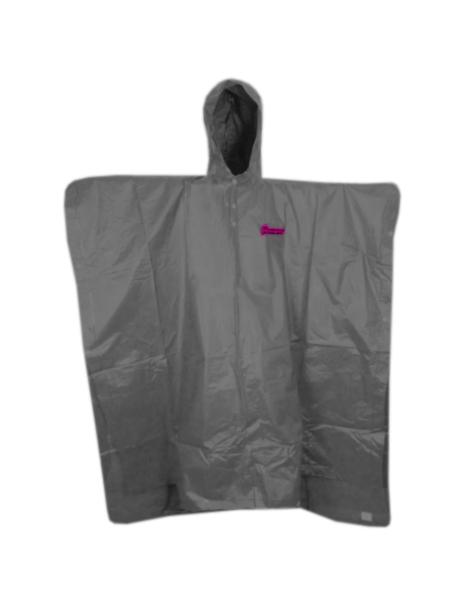 pláštěnka HAVEN RAINCOAT Poncho šedo/růžová