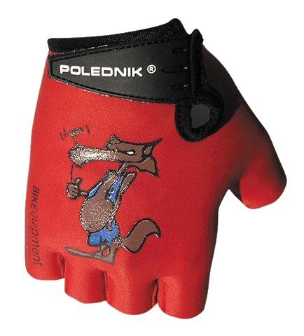 rukavice dětské Poledník červené vlk