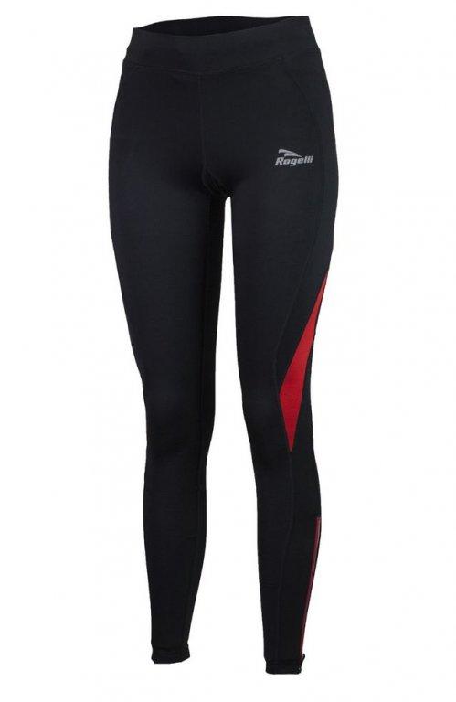 kalhoty dlouhé dámské Rogelli EMNA černo/červené
