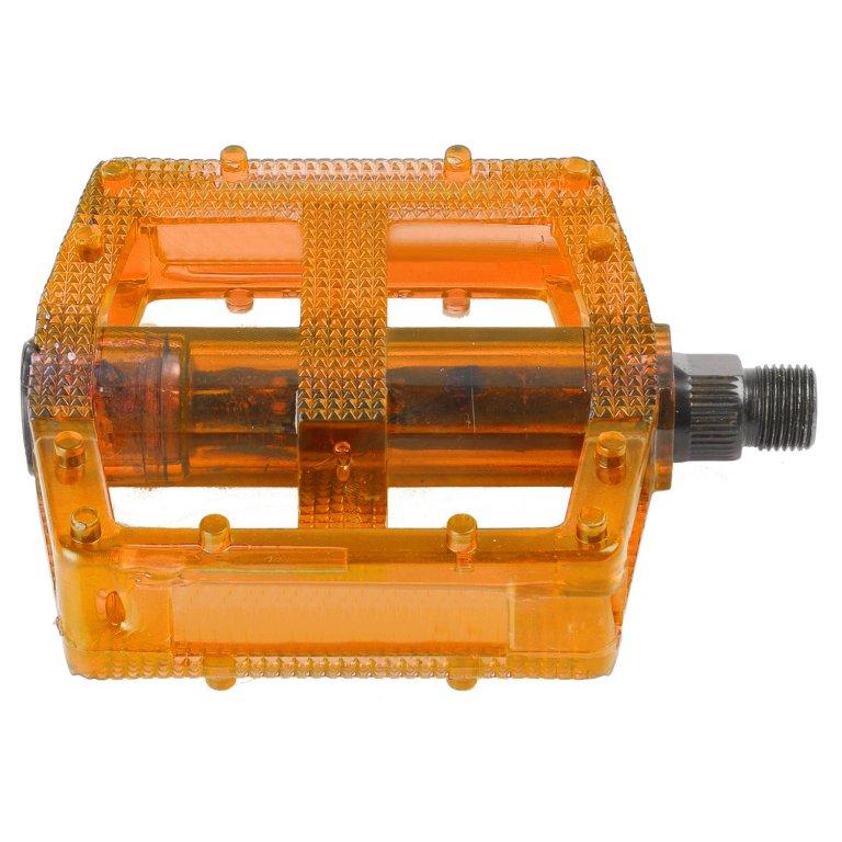"""pedály BMX M-Wave standard závit 9/16"""" oranžové"""