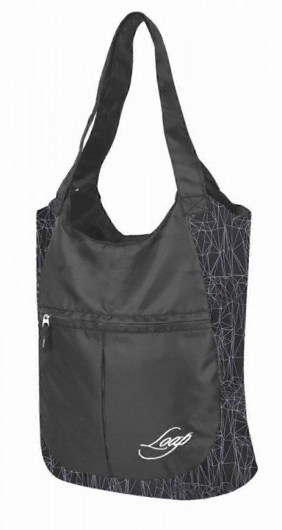 taška ladies LOAP FINNIE černo/šedá