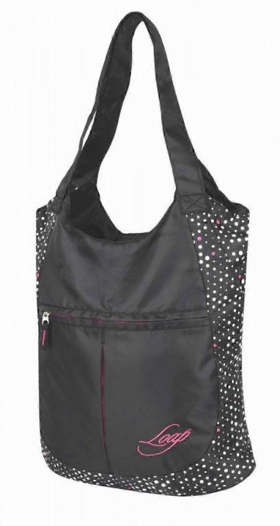 taška ladies LOAP FINNIE černo/puntíky
