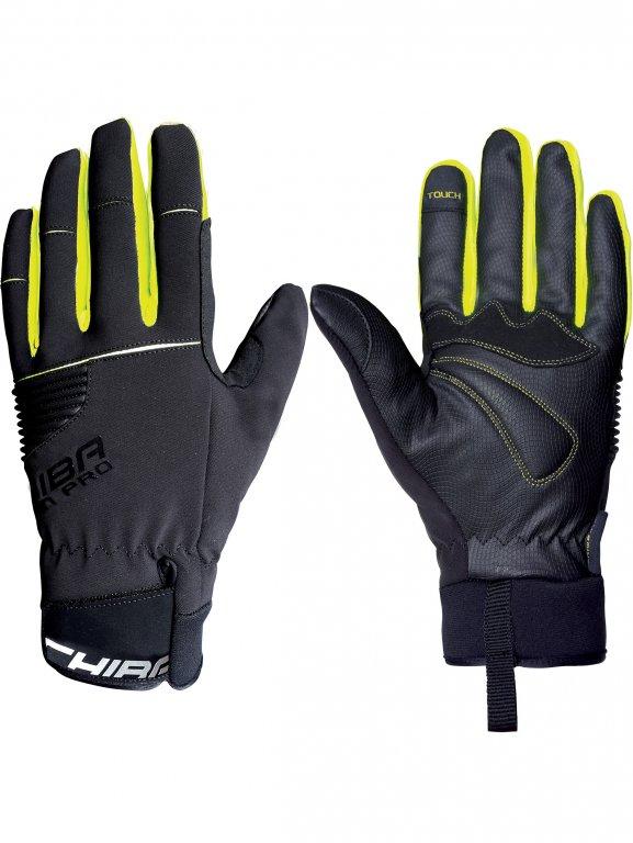 rukavice CHIBA RAIN TOUCH zimní nepromokavé černé