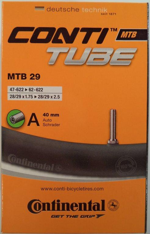 duše Continental MTB 28/29 (47/62-662) AV/40mm