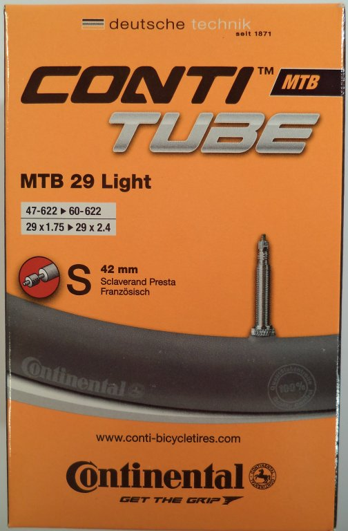 duše Continental MTB Light 28/29 (47/60-622) FV/42mm