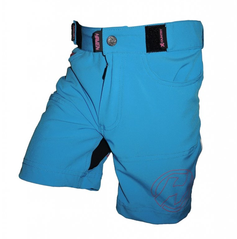 kalhoty krátké dětské HAVEN TeenAge modro/růžové
