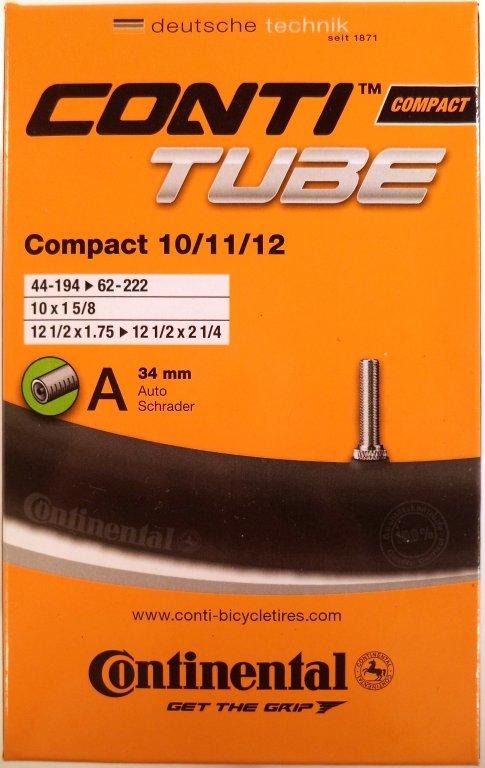 duše Continental Compact 10/11/12 (44-194/62-222) AV/34mm