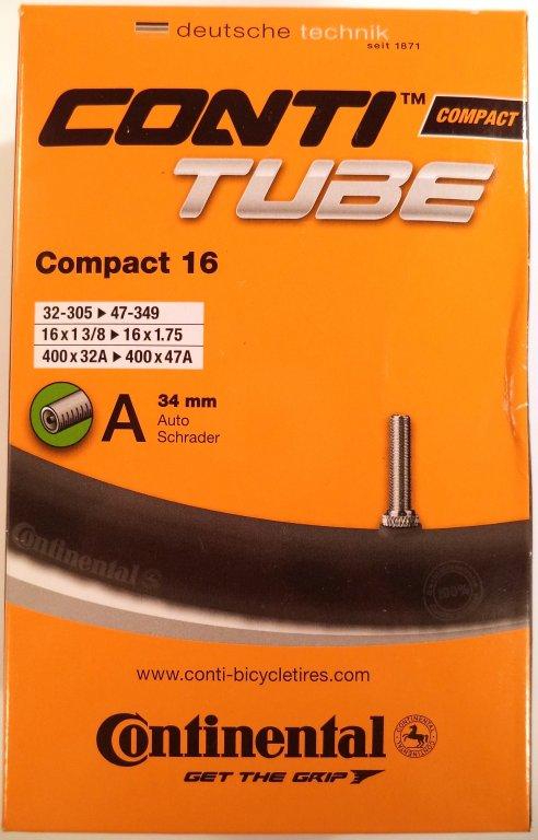 duše Continental Compact 16 (32-305/47-349) AV/34mm
