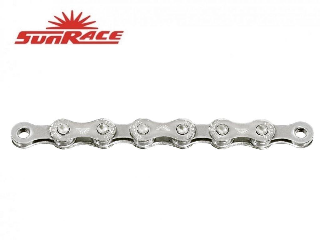 řetěz SunRace CN12S 12k 126čl. stříbrný