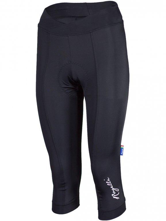 kalhoty 3/4 dámské Rogelli ULTRACING KNICKER černé