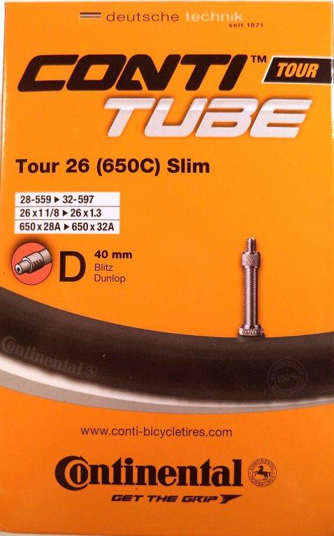 duše Continental Tour Slim 26 (28-559-32-597) DV/40mm