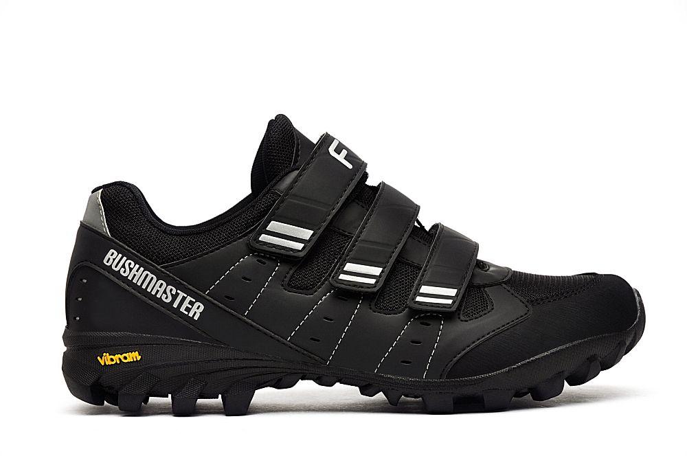 boty FLR BUSHMASTER černo/stříbrné