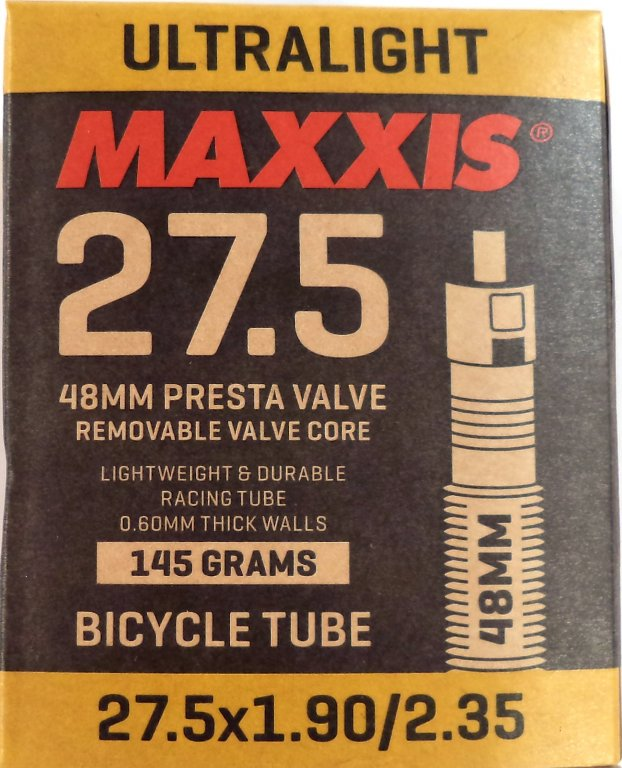 "duše MAXXIS Ultralight 27.5""x1.90-2.35 (48/60-584) FV/48mm"