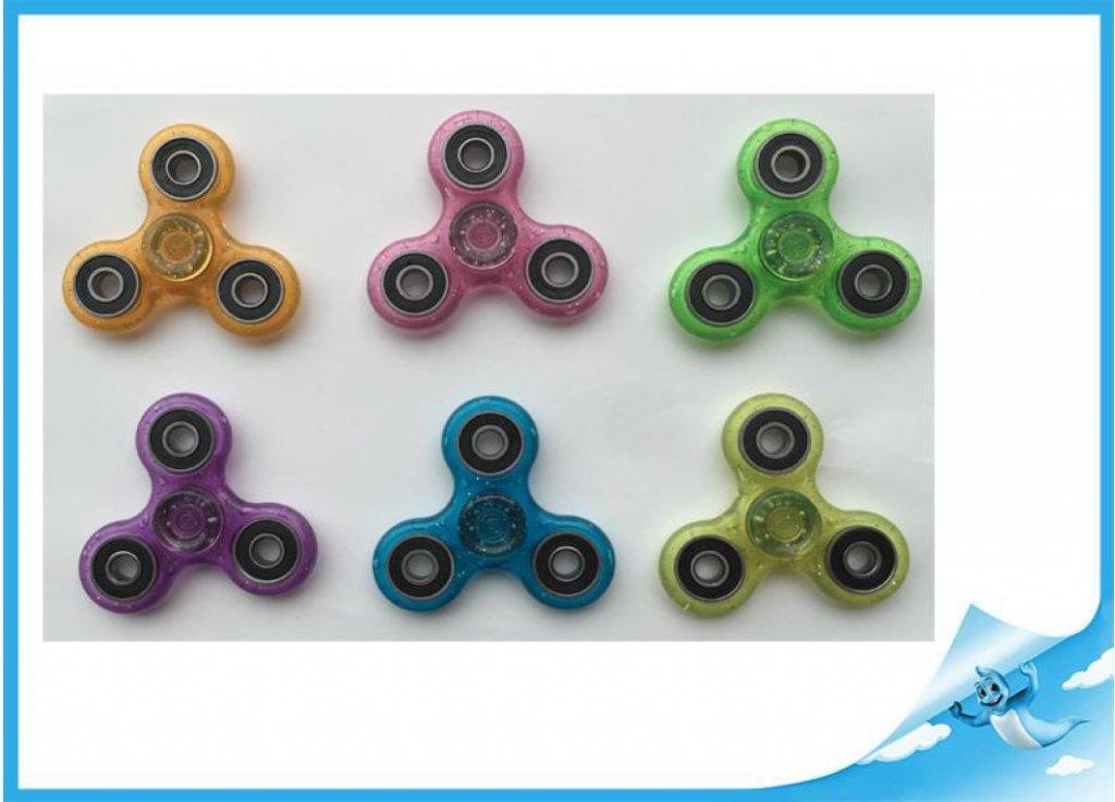 spinner Extreme 7,6cm se třpytkami