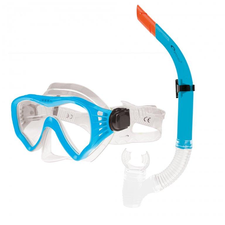 brýle+šnorchl Spokey GOMERA modré