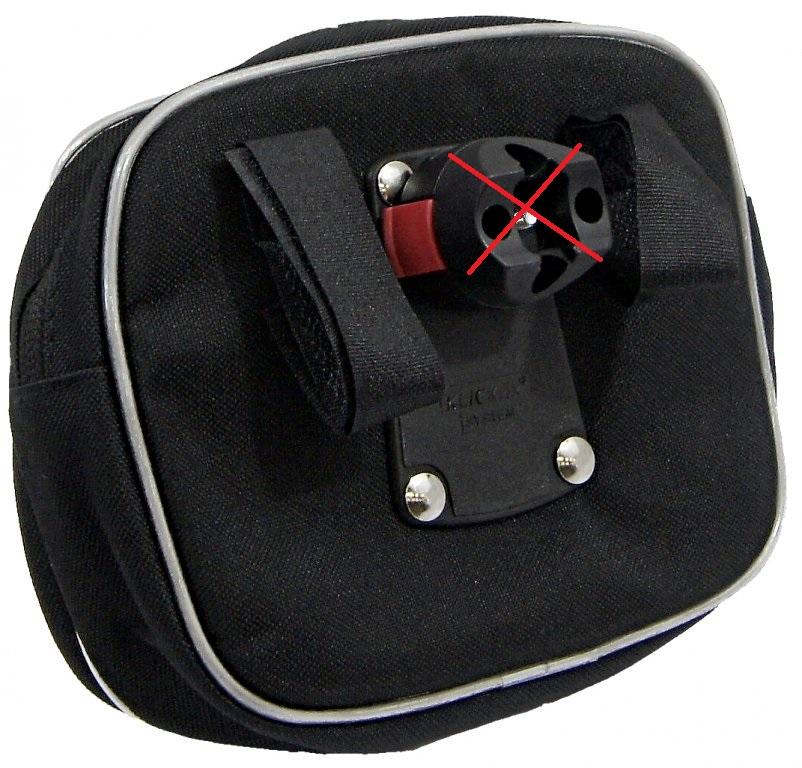 brašna Vape řidítková UNI Maxi Twist černá