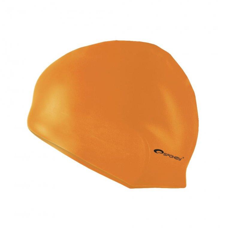 čepice plavecká Spokey SUMMER oranžová