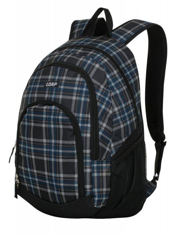 batoh daypack LOAP ORSY šedo/modrý