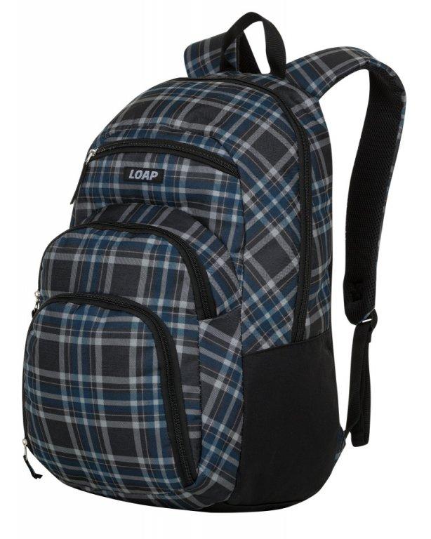 batoh daypack LOAP RENY šedo/modrý