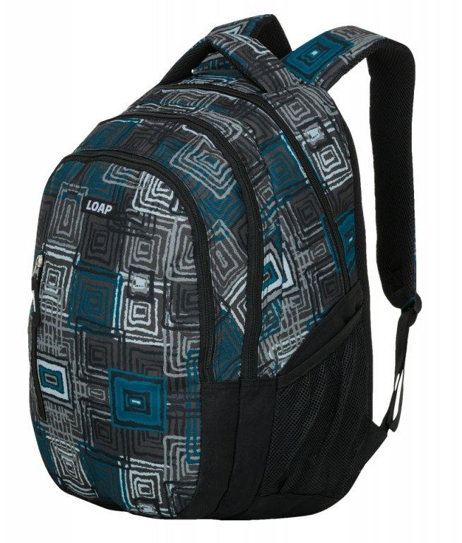 batoh daypack LOAP LIAN černo/šedý