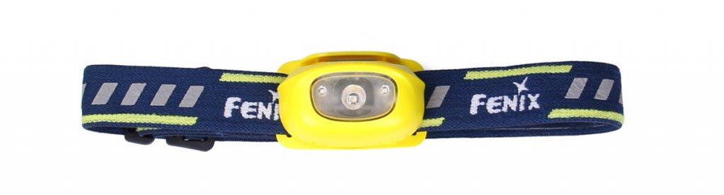 čelovka Fenix HL16 - žlutá