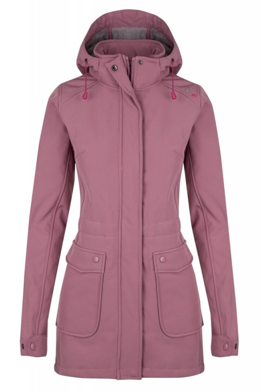 kabát dámský LOAP LALA růžový
