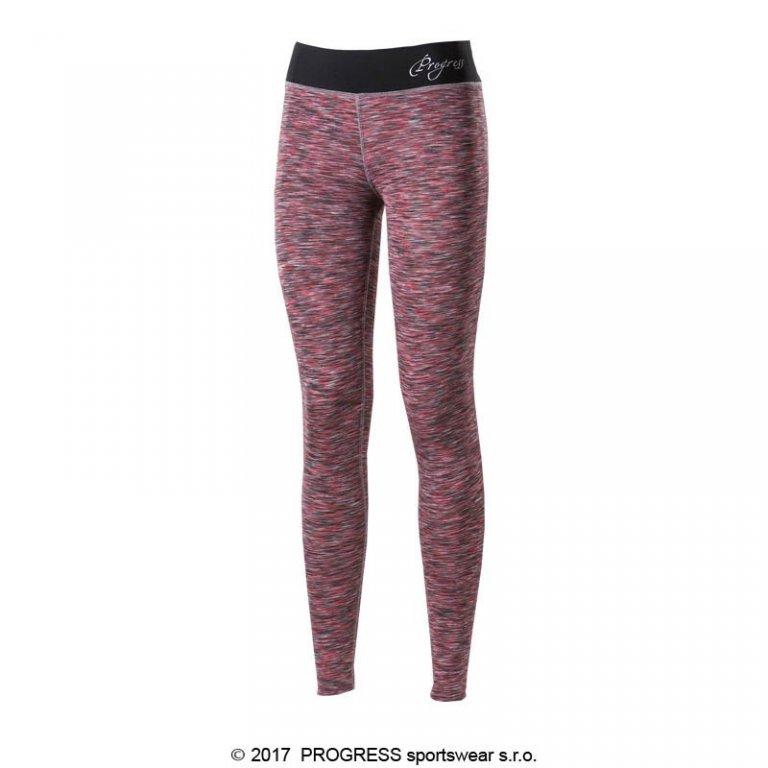 kalhoty dlouhé dámské Progress LUNGA růžové