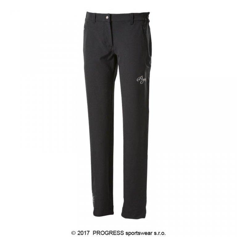 kalhoty dlouhé dámské Progress BRITA černé